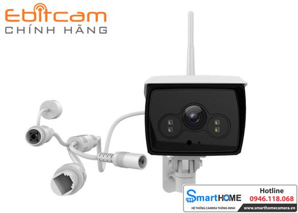 Trọn bộ Camera Ebitcam E2-X & EBO2 2.0M 1080P FullHD (Combo gia đình rộng)