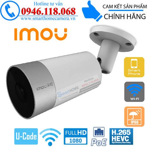 Camera IMOU IP POE Thân trụ 1080P FullHD