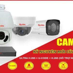 Trọn bộ 4 Camera IP Global Dome trong nhà 2.0M Full HD