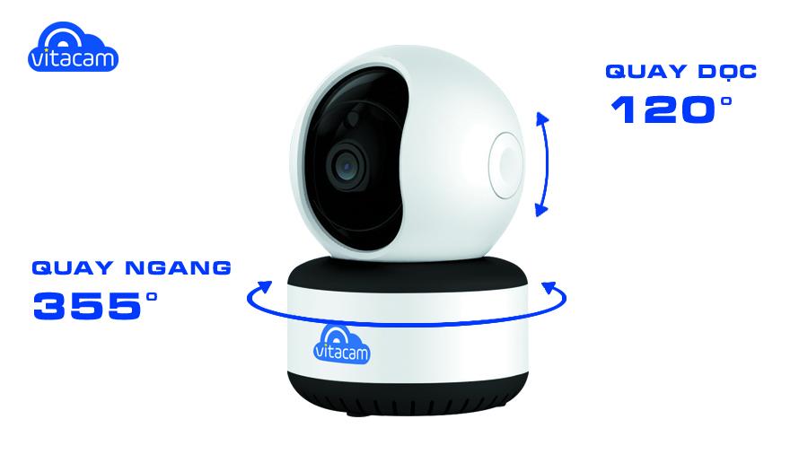 Camera Wifi Vitacam C1080 2.0Mp FullHD