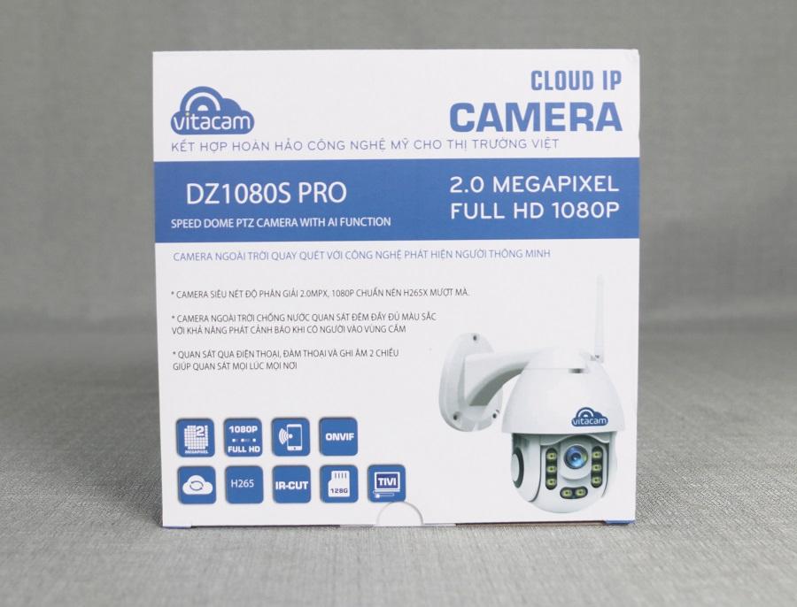 Camera Wifi Vitacam DZ1080S Pro 2.0Mp FullHD