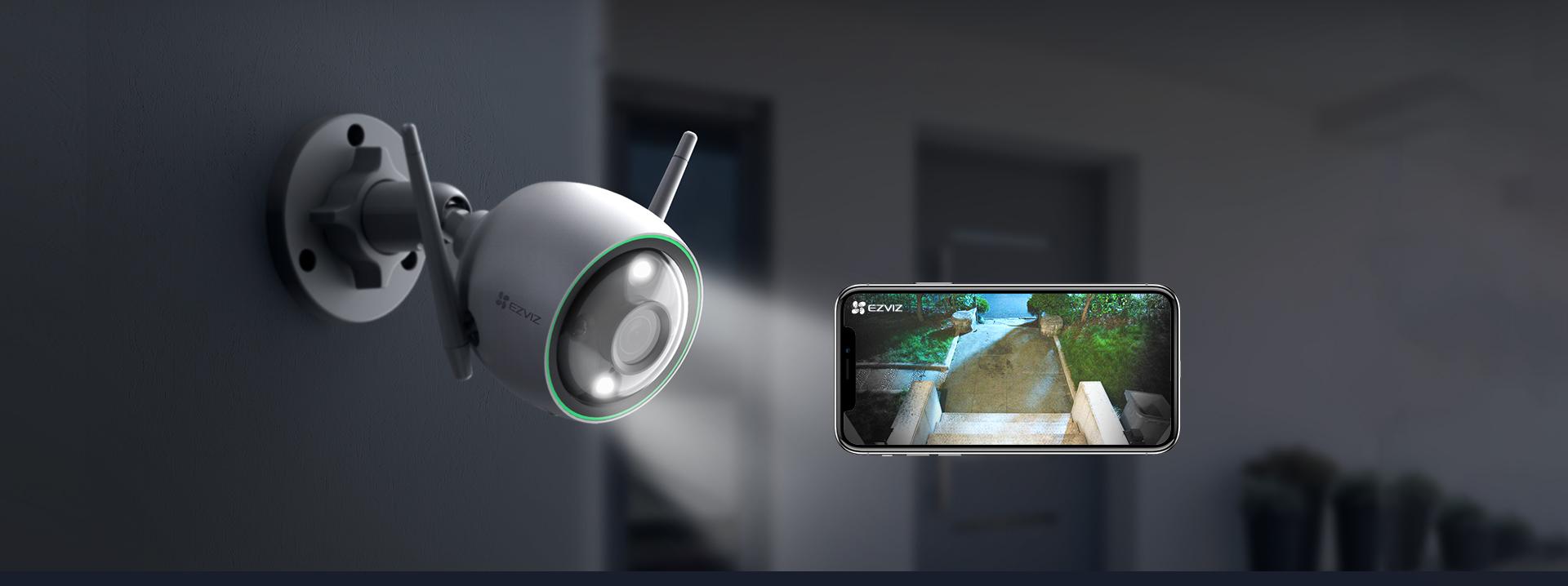 Camera Wifi EZVIZ C3N 1080P 2.0MP FullHD - Camera thông minh ngoài trời