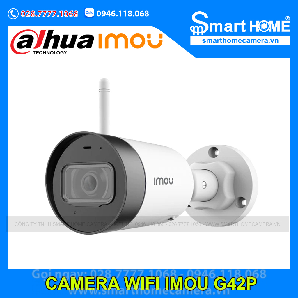 Camera Wifi IMOU Bullet Lite 4.0Mp - IPC-G42P-IMOU