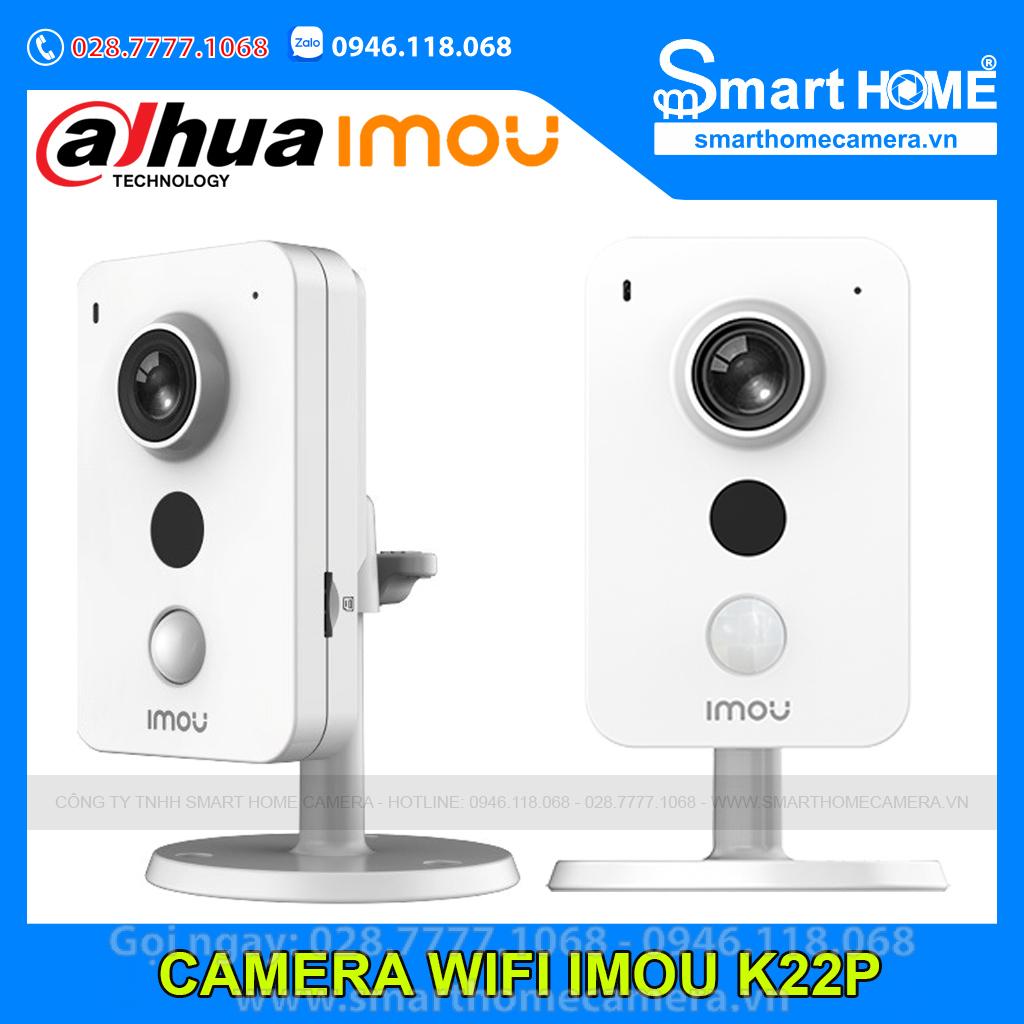 Camera Wifi IMOU K22p 2.0Mpx 1080p FullHD - IPC-K22P-IMOU