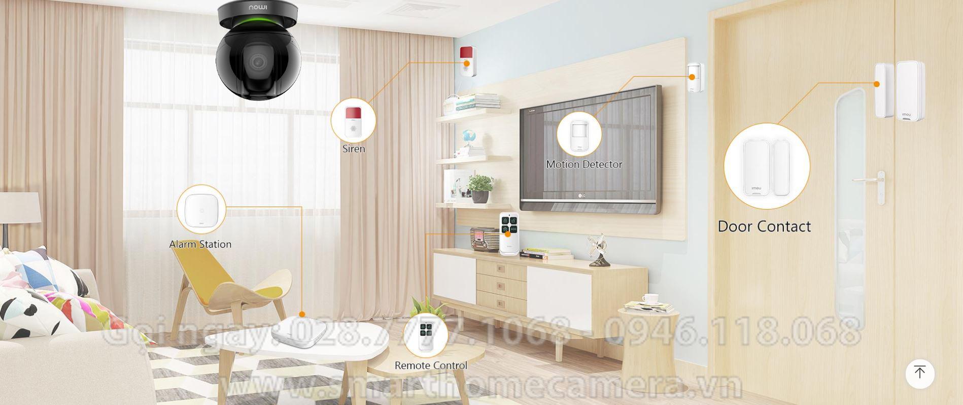 Camera Wifi IMOU Ranger IQ A26HIP 2.0Mp 1080P FullHD