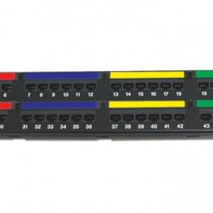 DINTEK Patch Panel Cat.6 UTP 2U 48P 19inch (P/N: 1402-04012)