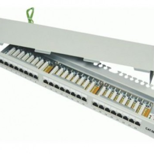 DINTEK Patch Panel Cat.5e FTP 1U 24P 19inch (P/N: 1402-03012)