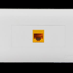 Mặt nạ mạng 1 Port US Style Desinger DINTEK CurvaPlate (P/N: 1303-11030)