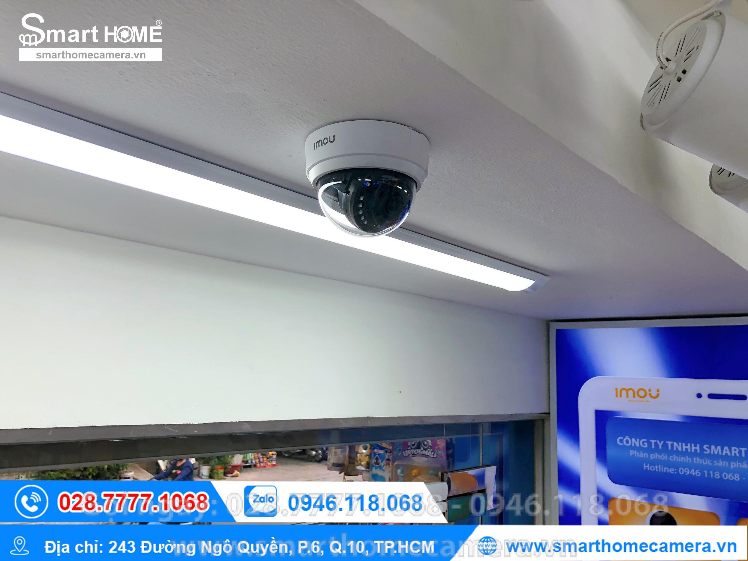 Camera Wifi IMOU IP Dome D42P 4.0Mp - IPC-D42P-IMOU