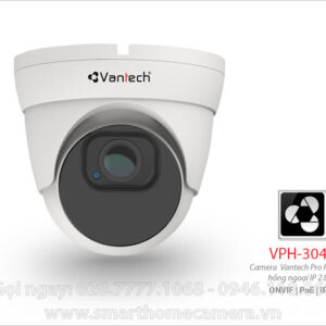 Camera Vantech VPH-305IP - Camera IP Dome Vantech 2.0Mp