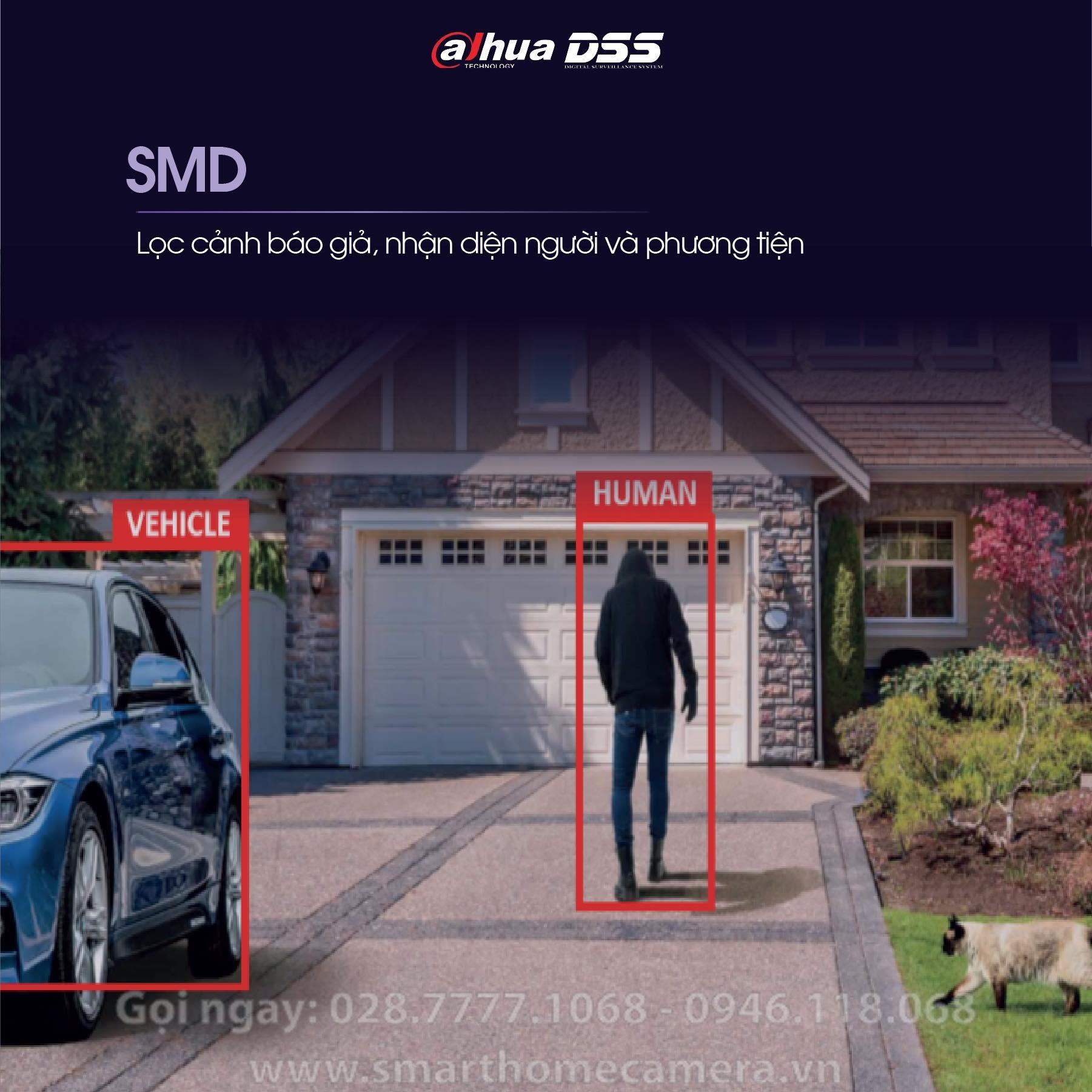 Camera Dahua SD3A200-GNP-W-PV - Camera IP PTZ Mini Outdoor 2.0Mpx H265