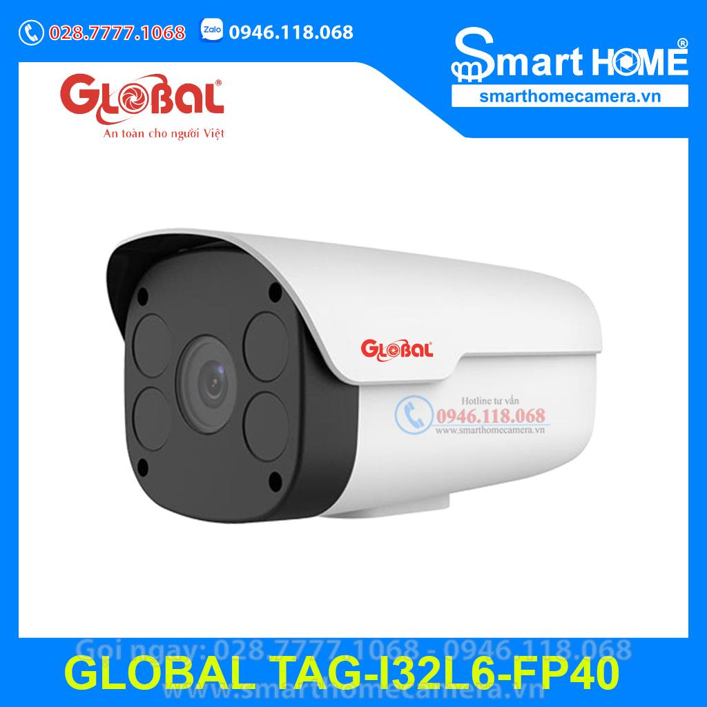 Camera Global IP Bullet 2.0Mpx Ultra265 - TAG-I32L6-FP40