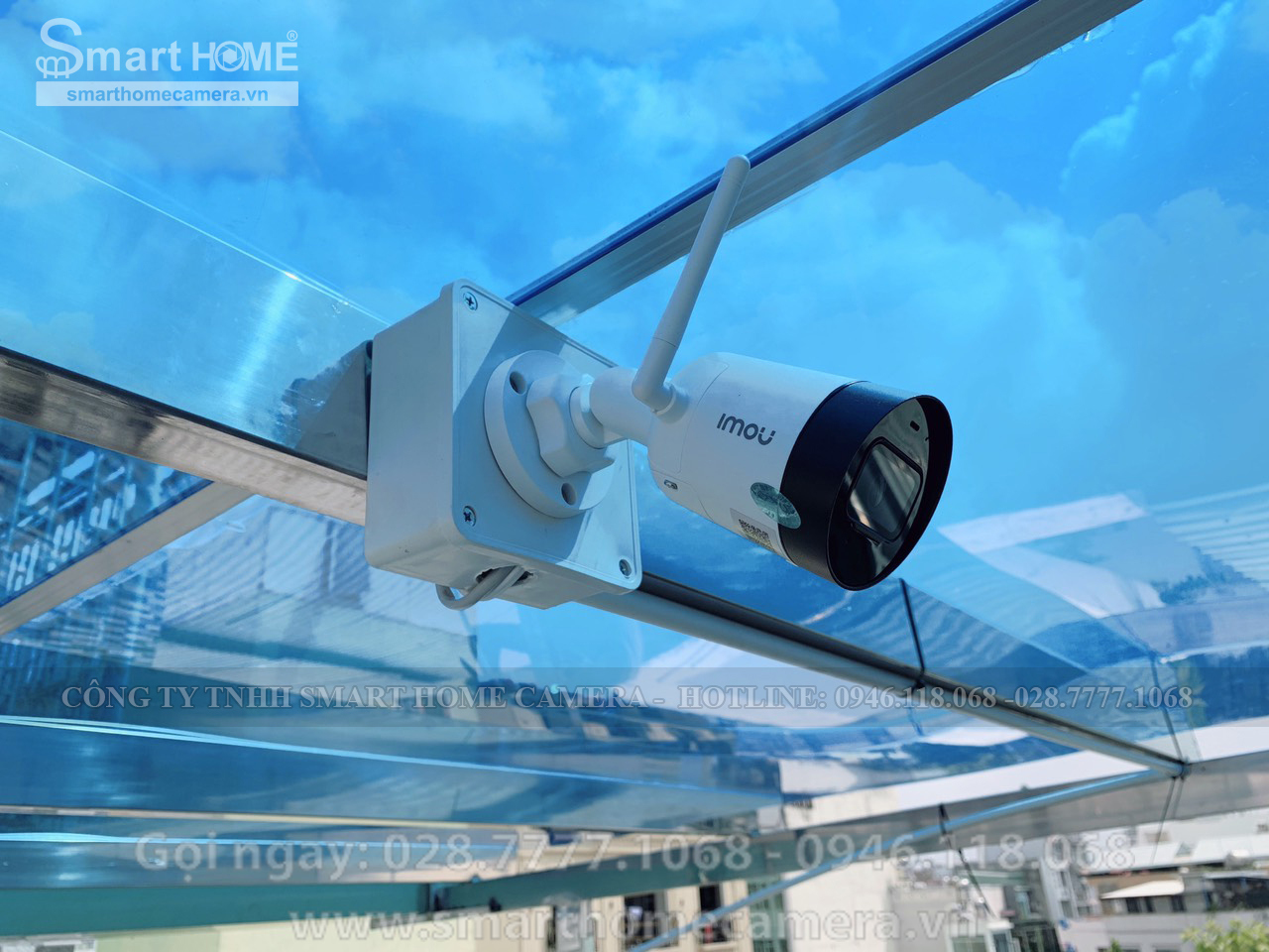 Lắp đặt camera quan sát Imou tại quận 1