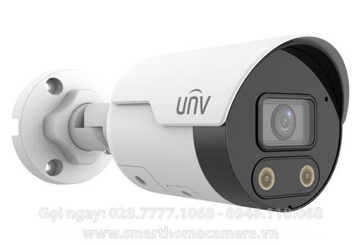 Camera UNV IPC2128SB-ADF40KMC-I0 - Camera IP LightHunter Active Deterrence 8.0Mpx Ultra265