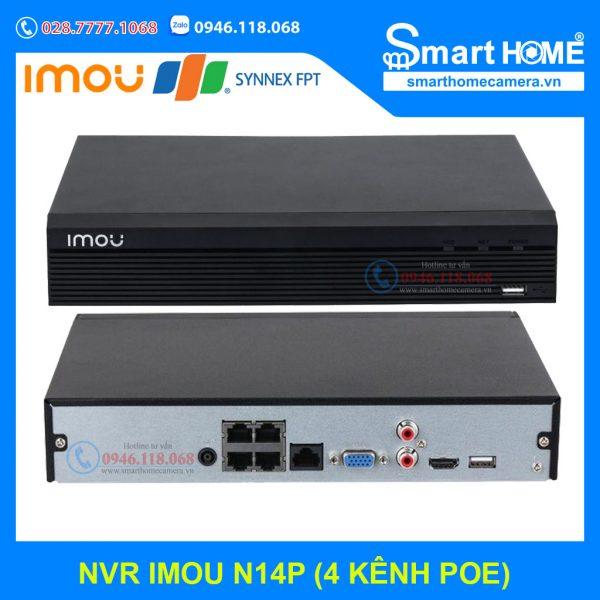 Đầu ghi IMOU N14P 4 kênh IP POE