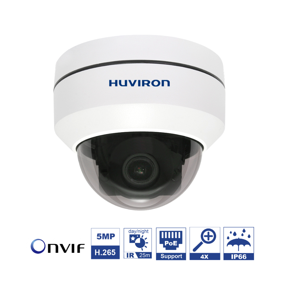Camera IP Huviron PTZ F-NZ554/IR25
