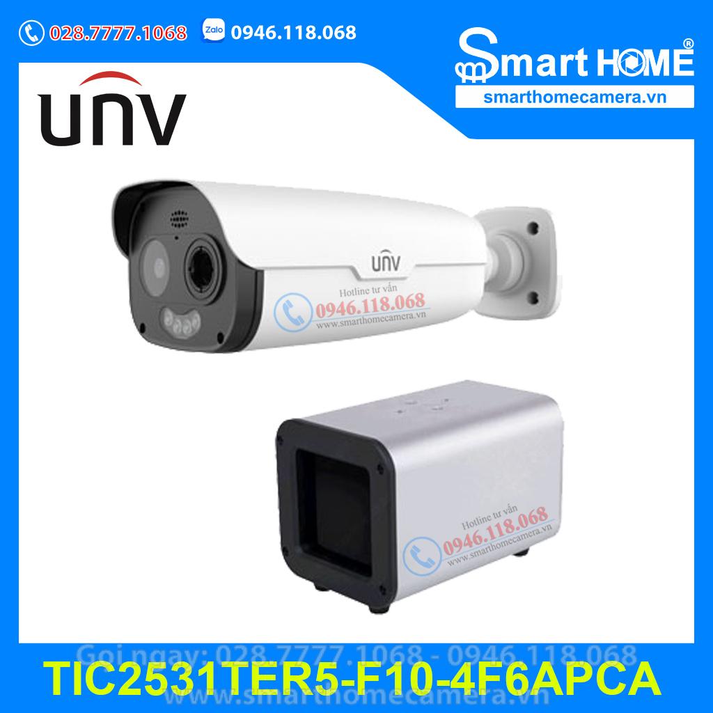 Camera UNV TIC2531TER5-F10-4F6APCA - Camera IP thân nhiệt 4.0Mpx