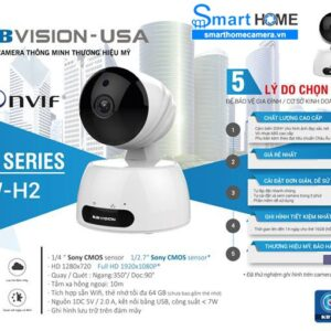 Camera KBVISION KW-H2 IP Wifi 1080P FullHD