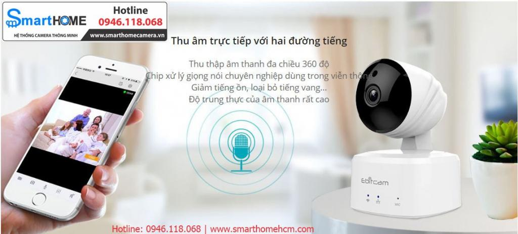 Camera Ebitcam IP Wifi – 2.0M Full HD 1080P
