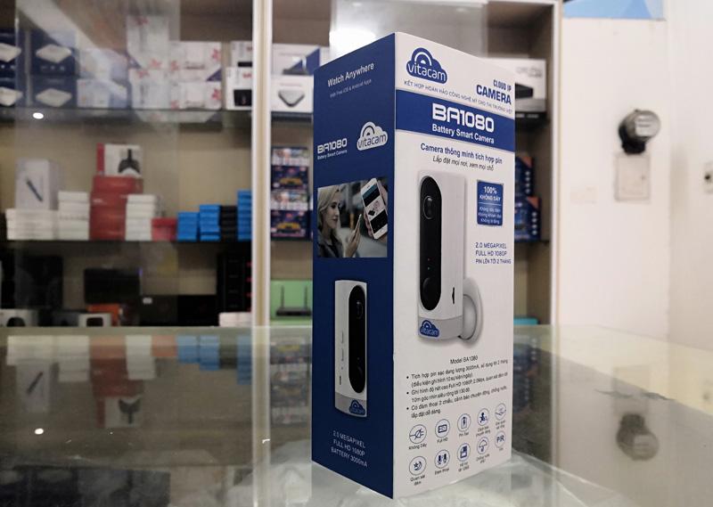 Camera Vitacam IP Wifi BA1080 - 2.0M 1080P FullHD (Góc rộng 130 độ)